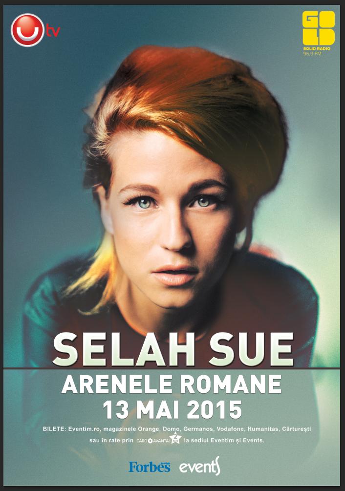 Selah Sue, un concert recomandat de Gold FM