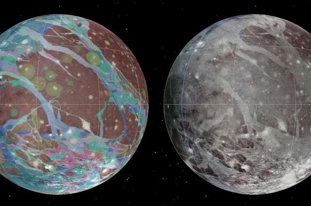 Formatiune ciudata pe Ganymede