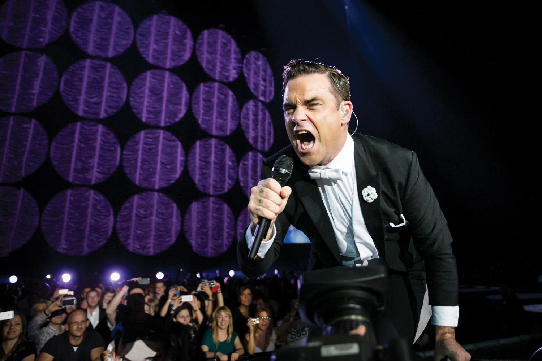 Robbie Williams koncertje Budapesten
