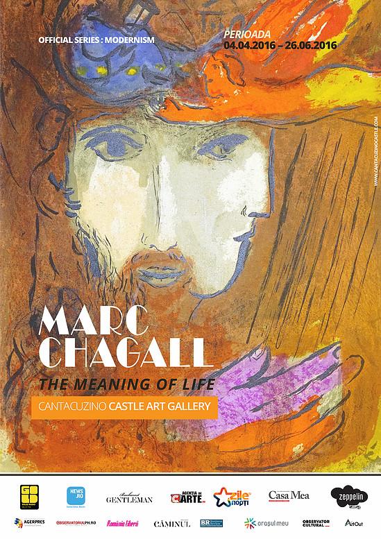 Expozitie Marc Chagall la Castelul Cantacuzino din Busteni