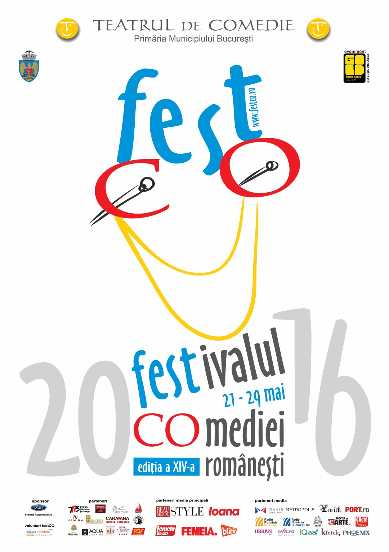 GOLD FM va recomanda festCO – Festivalul Comediei Romanesti 2016!