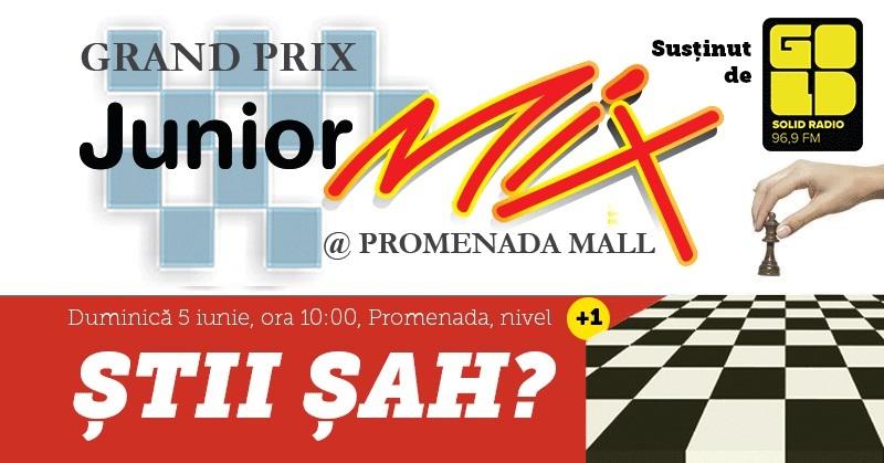Gold FM recomandă concursul de șah Grand-Prix Junior