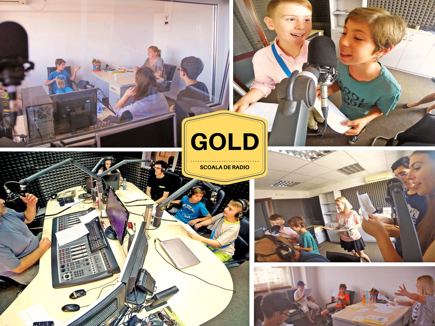 Un nou modul de ateliere radio la Scoala GOLD