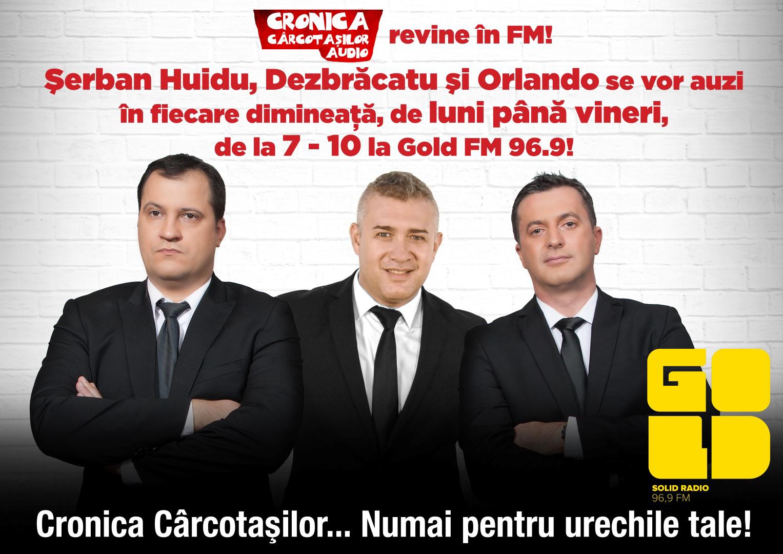Cronica Carcotasilor se aude pe 96.9 FM