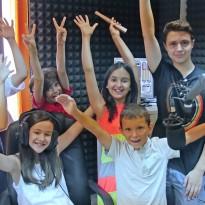 O noua serie de cursanti la Atelierele de Vara ale Scolii de Radio GOLD