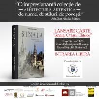 """Lansare carte """"Sinaia, Orasul Elitelor"""""""